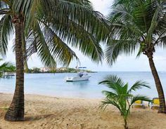 2014 Beauty of Latin America Spanish-English Bilingual Promotional Calendars_July2014 - Isla Roatan, Honduras.  Our house is in the background!
