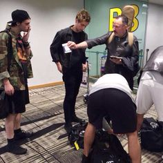 5sos in Auckland yesterday June 18th