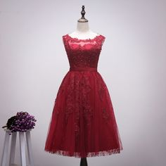 Aliexpress.com : Buy Real Photos Burgundy Prom Dresses 2016 New Arrival Scoop Sleeveless Lace Up Back Pleats Tulle with Applique Sequins  from Reliable tulle favor suppliers on Life&Peace Dress Store  | Alibaba Group