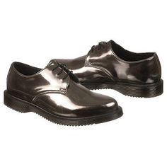 Dr. Martens Tanner Shoes (Pewter Leather) - Women's Shoes - 9.0 OT