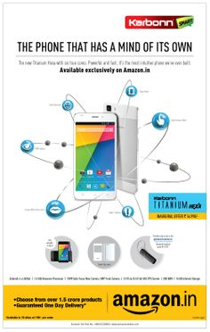 Karbonn Titanium Hexa smartphone  exclusively available on Amazon India for pre-booking. http://bit.ly/1iHCfCK  pic.twitter.com/BU4NBh5K6F
