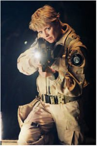 My hero Doctor, Captain, Sam Carter the most BA woman in Sci-Fi (well River Song and River Tam as well)