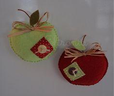 Maçã verde e maçã vermelha!.