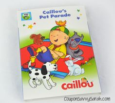 PBS Kid's Caillou: Caillou's Pet Parade - Now Available on DVD!  http://couponsavvysarah.blogspot.com/2016/04/pbs-kids-caillou-caillous-pet-parade.html
