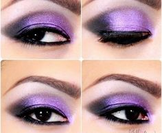 Nice purple eyes :D