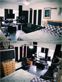 Awe Inspiring Bedroom Music Studio Home Studio Ideas Home Studio Dawg Blog Largest Home Design Picture Inspirations Pitcheantrous