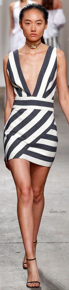 Milly Spring 2016 RTW women fashion outfit clothing style apparel @roressclothes closet ideas