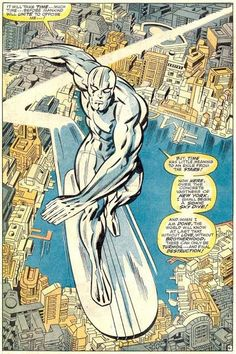 Silver Surfer - by Jack Kirby