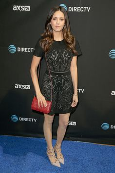 c3d64cb1a7fdf0 Nina Dobrev Photos - Actress Nina Dobrev attends DirecTV Super Saturday  Night Co-hosted by Mark Cuban s AXS TV at Pier 70 on February 2016 in San  Francisco