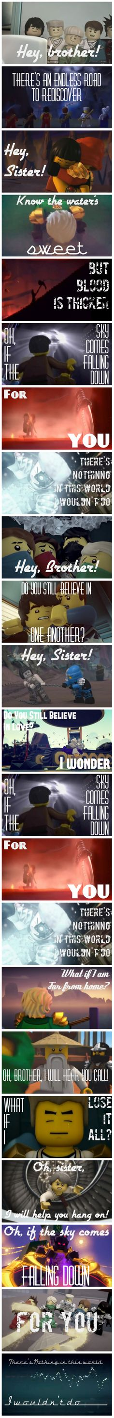 Ninjago- Hey Brother by Neon-Frost.deviantart.com on @DeviantArt someone please make a music video!!!