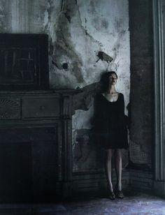 erytheis: Kamila Filipcikova by Deborah Turbeville for Barney's New York Fall Winter 2010 Catalogue