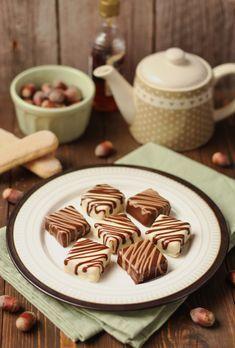 Minjoni sa rumom i lešnicima - Mystic Cakes Baking Recipes, Cake Recipes, Vegan Recipes, Dessert Recipes, German Chocolate Cookies, Torta Recipe, Sweet Desserts, Mini Cakes, No Bake Cake