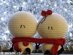 You can buy my handmade Bigli Migli in myETSY shop  I met with Bigli Migli stickers first on Facebook and I really like them. They are simple but so adorable. I asked their creator Sepideh Davoudi if she allows me to create my crochet Bigli Migli dolls. She was kind and gave me her...