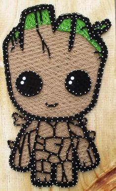 String Crafts, Rock Crafts, Yarn Crafts, String Art Templates, String Art Patterns, Diy Crafts Hacks, Diy And Crafts, Arts And Crafts, Hilograma Ideas