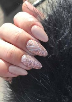 How to Do Acrylic Nails: 51 Cool Acrylic Nail Designs to Try - Almond Nails Almond Acrylic Nails, Summer Acrylic Nails, Acrylic Nail Art, Acrylic Nail Designs, Summer Nails, Cute Almond Nails, Fall Nails, Diy Nails, Cute Nails