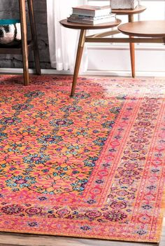 *RETURNS DUE TO DISTRESSED LOOK ARE AT COST OF CUSTOMER* EXPECT SIGNIFICANT COLOUR VARIATIONS DUE TO DISTRESSED & VINTAGE LOOK* Please choose carefully. - 50% Polypropylene, 50% Cotton- Made in Turkey- 6mm Pile Height- Gorgeous Designs- Easy to vacuum Powerloomed for precision and durability, this rug is also tip s