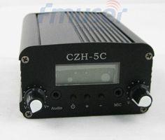 780.00$  Buy now - http://alik40.worldwells.pw/go.php?t=506030154 - 10pcs 5W CZH-5C FM stereo PLL broadcast transmitter 87-108MHz 1/4 wave anti-rain GP antenna Power supply 780.00$