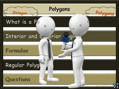 Irregular and Regular Polygons - animated PowerPoint with Questions and Full Solutions