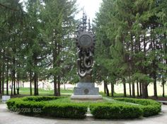 Monument on the hill of peace. Sombor
