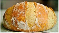 Domácí křupavý chlebík: Hotový raz-dva, voní po celém domě a chutná úžasně! How To Make Bread, Food To Make, Bread And Pastries, Russian Recipes, Pampered Chef, Bread Baking, Tray Bakes, Baking Recipes, Bakery