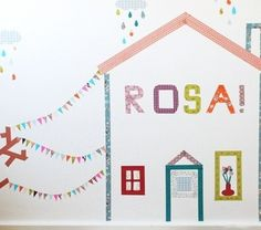20 Cool Washi Tape Decor Ideas For Kids Rooms | Kidsomania