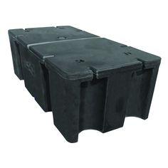 48 in. x 24 in. x 16 in. Dock Float, Black