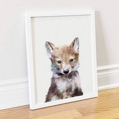A little wolf pup  For the first time, free shipping at @Society6 includes…