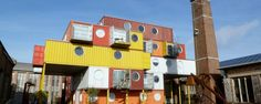 Container City II by Urban Space Management | #OrganicSpaMagazine
