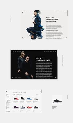 Today I'd like to close look at a stunning concept site for Nike created by Polish designer Aleksandr Samoylenko. I just love the clean and spacious look and the overall balance of the site. It really let's you focus on the product/s you're watching, exactly as it should be.