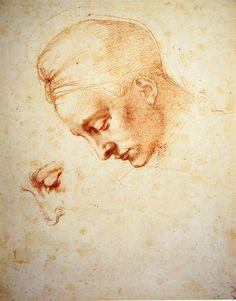 """Michelangelo Buonarroti, """"Leda""""."""