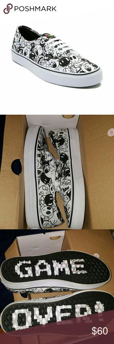 4638979d11 Special Edition Nintendo Vans Mario Villains Take a walk on the dark side  of gamer style