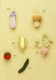 Free Mini crochet patterns