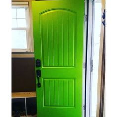 Electric Lime paint color SW 6921 by Sherwin-Williams. View interior and exterior paint colors and color palettes. Get design inspiration for painting projects. Green Paint Colors, Exterior Paint Colors, Grey Hallway, Lime Paint, Interior And Exterior, Design Inspiration, Lyon, Color Palettes, Deserts