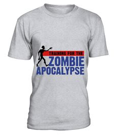 Zombie Apocalypse Gym Motivation T-Shirt