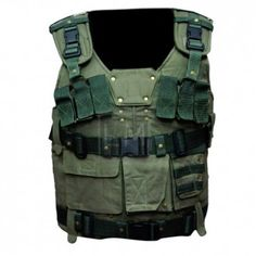 Furious 7 The Rock Green Ammo Vest