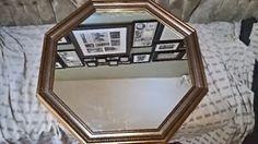 Beautiful Gold Accent Hexagonal Mirror Oshawa / Durham Region Toronto (GTA) image 5