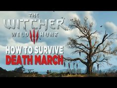 How to Survive Death March - The Witcher 3: Wild Hunt - YouTube