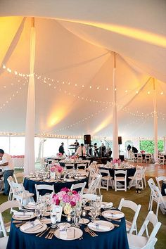 The wedding tent by Christopher Duggan, via Flickr