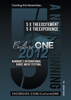 Cluture ONE 2012