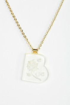 Diament Jewelry For Urban Renewal Acrylic Letter Necklace #urbanoutfitters