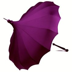 Bella Pagoda Umbrella - Purple (I have a Pagoda umbrella in black with a pink handle but I'm thinking that I may need this one too)