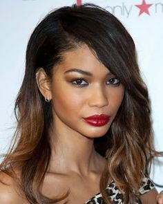 Perfect ombre for dark hair