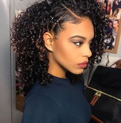 Cute Hairstyles for Naturally Curly Hair Curly Haircuts Black Natural Curly Hairstyles source : Africanamericanhairstyling Cute Curly Hairstyles, Braided Hairstyles, Curly Haircuts, Hairstyles 2016, Black Hairstyles, French Hairstyles, Latest Hairstyles, Blown Out Natural Hairstyles, Wedding Hairstyles