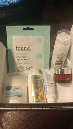 InStyle Walmart Beauty Box & Winter Walmart Beauty Box