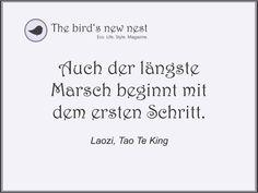Tägliche Inspiration auf The bird's new nest. Zukünftig gibt es auf der Facebook-Seite von The bird's new nest...