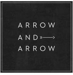 arrow and arrow logo.