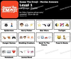 Guess The Emoji Movies Level 1 Guess The Emoji Emoji Movie Emoji Quiz