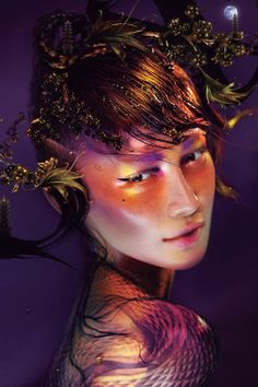 Chen Man for MAC Cosmetic's Year of the Snake collection.