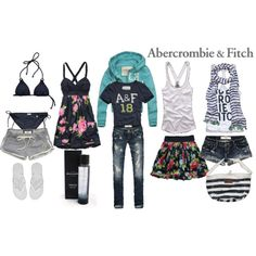 Abercrombie and Fitch outfits on polyvore