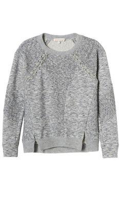 Rebecca Taylor Ottoman Sweatshirt